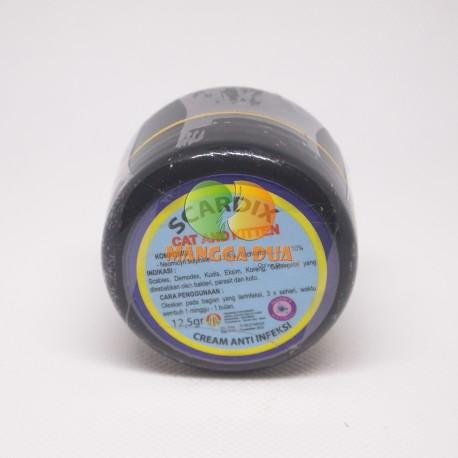 Scardix 12.5 gram Original - Obat Salep Cream Anti Scabies Eksim Koreng Kucing Cat Kitten Salf Krim Kelinci Anjing