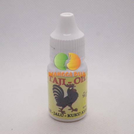 Taji Oil 10 ml Original - Penguat Paru, Jalu dan Kuku Ayam