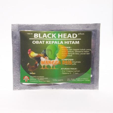 Black Head Plus 10 Capsul Original - Obat Kepala Hitam