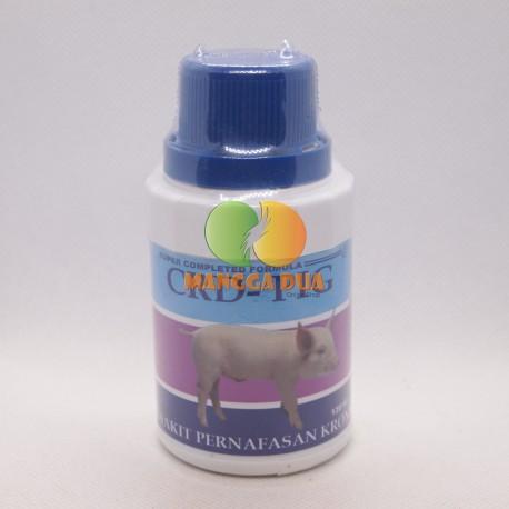 CRD Pig 100 ml Liquid Original - Mengatasi Sakit Pernapasan Kronis Pada Babi