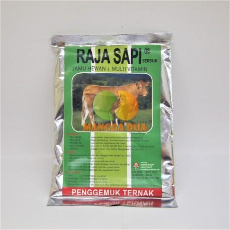 Raja Sapi 200 Gram Original - Jamu Hewan Sapi dan Multivitamin Penggemuk Ternak