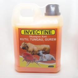 Invectine 250 ml 1 Liter Original - Shampoo Anti Kutu, Tungau, Gurem Pada Sapi Dan Kambing
