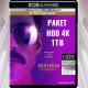 Paket HDD Harddisk 4K REMUX 1TB 2TB 4TB Terbaru Update Box Office ULTRA WD Western Digital Garansi Resmi