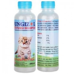 Fungizol Cat Dog 125 ml 250 ml Original - Shampoo Anti Jamur Anjing dan Kucing