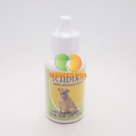 Scadix Dog Anjing Drop 30 ml Original - Obat Anti Jamur Scabies Kudis Eksim Koreng Gatal Pada Anjing Puppies