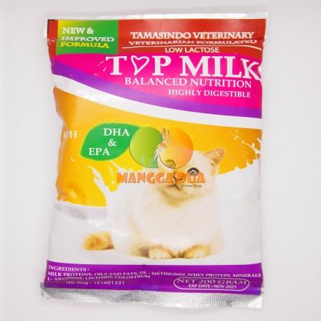 Top Milk Cat Dog 50 dan 500 Gram Original - Top Milk Susu Khusus untuk Anjing Kucing DHA dan EPA