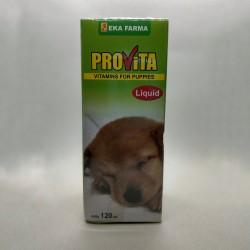 Provita Liquid 120 ml Original - Vitamin Anak Anjing Pertumbuhan Anjing Penambah Nafsu Makan
