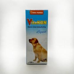 Vitanon Liquid 120 ml Original - Multi Vitamin Anjing Hamil Bunting Anak dan Induk Sehat
