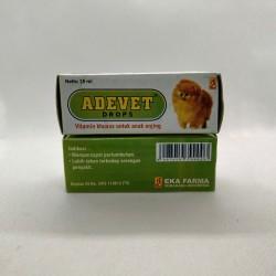 Adevet Drop 15ml Original - Vitamin Khusus untuk Anak Anjing Nafsu Makan Cepat Tumbuh Tahan Sakit