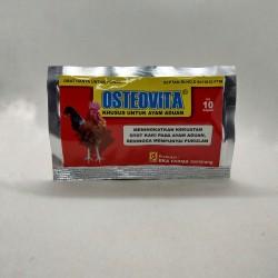 Osteovita 10 Kapsul Original - Vitamin Meningkatkan Kekuatan Otot Kaki pada Ayam Aduan
