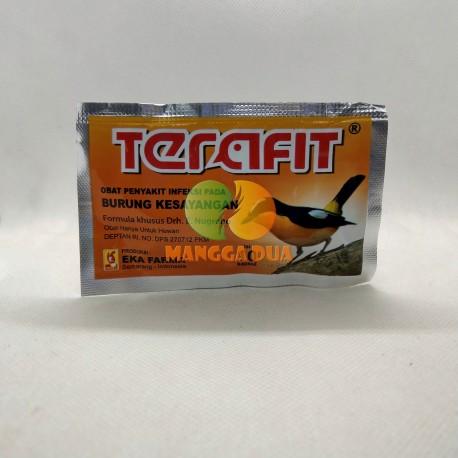 Terafit 10 Kapsul Original - Vitamin Obat Penyakit Infeksi pada Burung