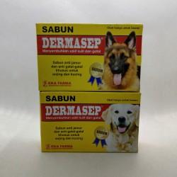 Dermasep Sabun Original - Sabun Harum Wangi Anti Jamur Gatal Gatal pada Kucing dan Anjing