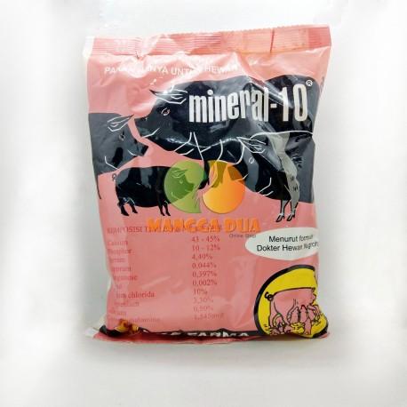 Mineral 10 Babi 1KG Original - Campuran Mineral Pakan Babi Menambah Nafsu Makan Sehat dan Gemuk