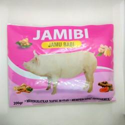 Jamibi 200 Gram Original - Jamu Babi Penggemuk Ternak