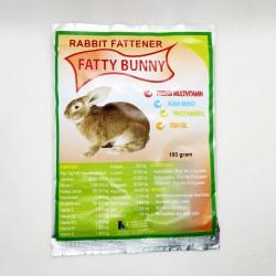 Fatty Bunny 100 Gram Original - Penggemuk Kelinci Rabbit Fattener