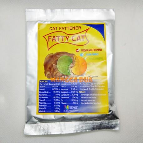 Fatty Cat 100 Gram Original - Penggemuk Kucing Cat Fattener