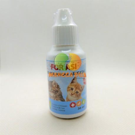 For Asi  30 ml Original - Nutrisi Memperlancar Air Susu Kucing Cat Kitten