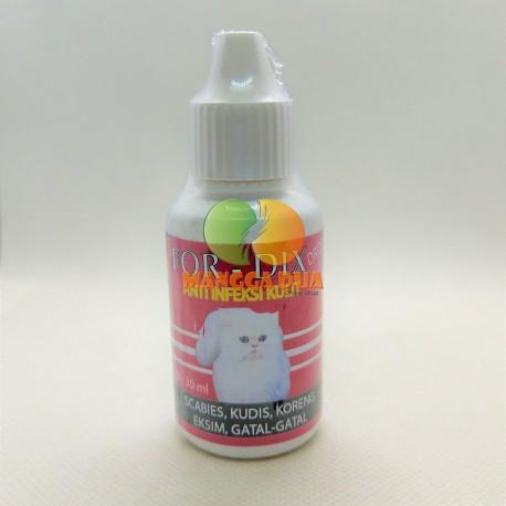 For Dix Drop 30 ml Original - Obat Anti Jamur Scabies Kudis Eksim Koreng Gatal Pada Kucing