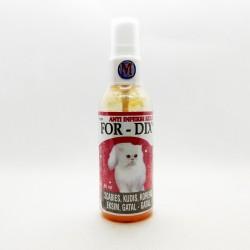 For Dix Spray Dog Cat 60 ml Original - Obat Anti Jamur Scabies Kudis Eksim Koreng Gatal Pada Anjing dan Kucing