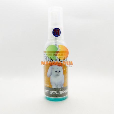 Fun Cat Dog Rabbit 60 ml Original  - Anti Infeksi Jamur Obat Anti Gatal Kucing dan Anjing Kelinci