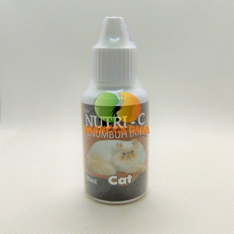 Nutri C 30 ml Original - Obat Penumbuh Bulu Anjing Kucing Hamster