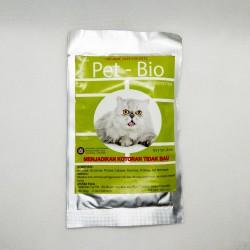 Pet Bio 50 gram dan 30 gram Original - Penghilang Bau Kotoran Anjing Dan Kucing dari Pakan