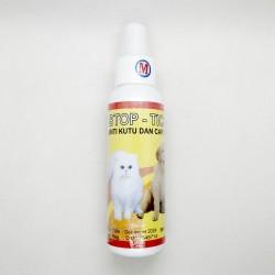 Stop Tick Spray 120 ml Original - Obat Anti Kutu Membasmi Caplak Anjing Kutu Kucing Sapi Kambing