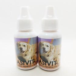 Asivit Dog 30 ml Original - Nutrisi Memperlancar Air Susu Anjing Dog Doggie