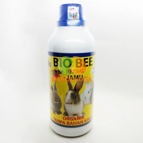 Bio Bee Jamu Herbal 500 Ml Original - Penggemukan Dan Penambah Nafsu Makan Imun Kelinci