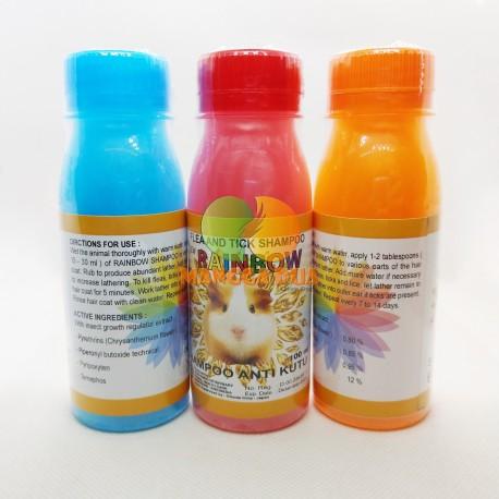 Rainbow Hamster 125 ml Original - Shampoo Anti Kutu Hamster
