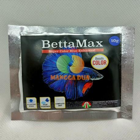 BettaMax 10 gram Original - Makanan Ikan Cupang yang Mempertajam Warna Booster Color