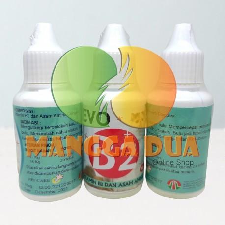 Evo B2 Cat 30 ml Original - Vitamin Untuk Bulu dan Kesehatan Kucing