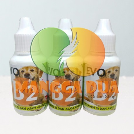 Evo B2 Dog 30 ml Original - Vitamin Untuk Bulu dan Kesehatan Anjing Puppies