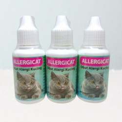 Allergi Cat Drop 30 ml Original - Obat Obat Kucing Gatal Kulit Radang Akibat Alergi Kucing Kitten