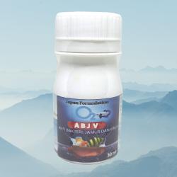 O2 ABJV  30ml Original - Obat Ikan Jamur Bakteri Dan Virus Ikan Hias Cupang Arwana Koki
