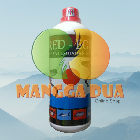 Red Egg 1000 ml 1 Liter Original - Meningkatkan Birahi Dan Reproduksi Telur Ikan (Untuk Masa Pemijahan Ikan)