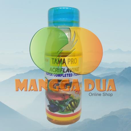 Tama Pro 100 ml Original - Acriflavine Anti Infeksi Kulit Obat Kuning Ikan Hias Anti Jamur Luka Bakteri