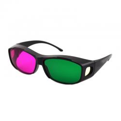 Kacamata 3D 4D nVidia Vision Green Magenta ( Hijau Magenta ) Anaglyph - Best Seller