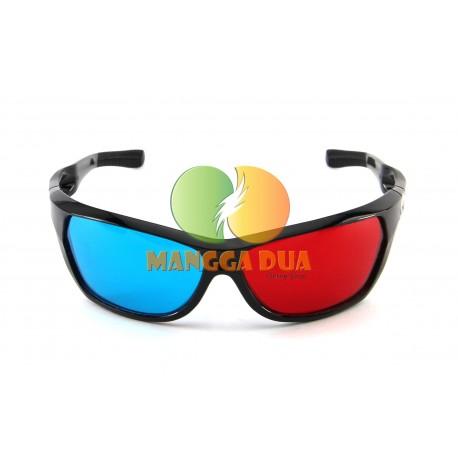 Kacamata 3D Anak Anak Red Cyan ( Merah Biru ) Anaglyph - Best Price Quality