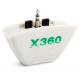Headphone Earphone Headset Converter Adapter 2.5mm ke 3,5mm Untuk XBOX 360