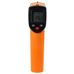 Thermometer IR Infrared Digital GM320 Tanpa Kontak Laser LCD Display Suhu  -50 ~ 380C (-58 ~ 716F)