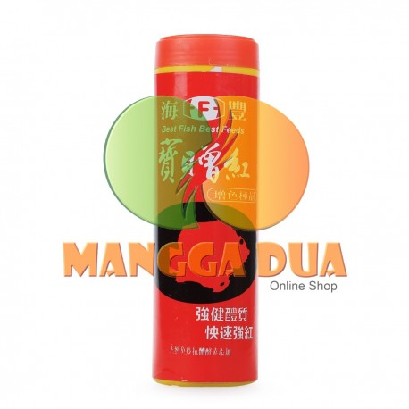 Super Red Haifeng / Heifeng 250 gram Original - Makanan Ikan Suplemen untuk Merah Ikan